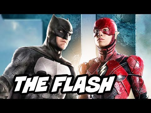 Justice League New Scenes - The Flash and Batman Explained