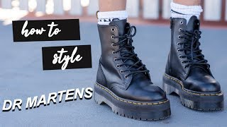 How To Style | Dr Martens Platform Boots