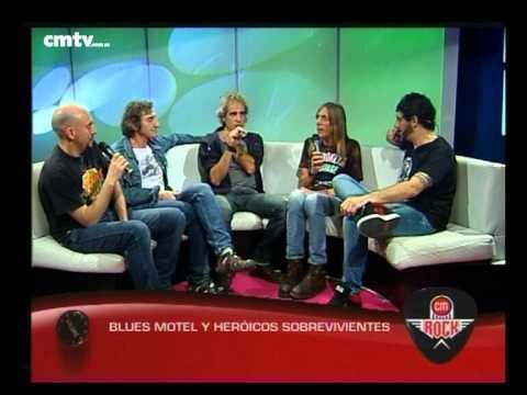 Blues Motel video Entrevista CM Rock - 30-10-2014