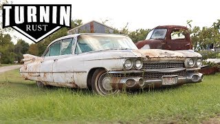 Will It Run? | 1959 Cadillac Sedan DeVille | A Turnin Rust Extra