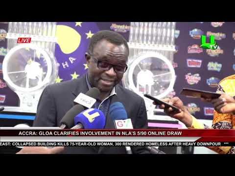 Accra: GLOA Clarifies Involvement In NLA's 5/90 Online Draw