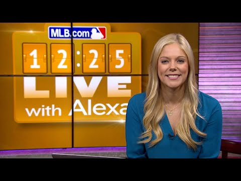 12:25 Live with Alexa Datt - 2/20/18: Eric Hosmer and J.D. Martinez get paid