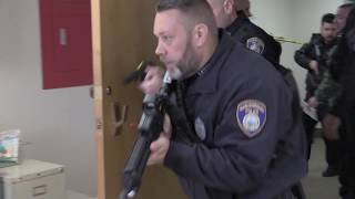 Active Shooter Drill at Marlborough Hospital