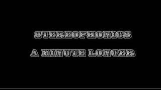 Stereophonics - A Minute Longer Lyrics