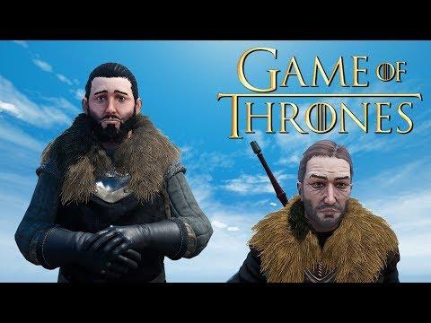 Playing as Jon Snow but in Mordhau