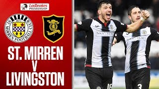 St. Mirren 1-0 Livingston | Late Flynn Goal Boosts Saints Survival Hopes | Ladbrokes Premiership