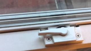 How to properly lock double hung windows.