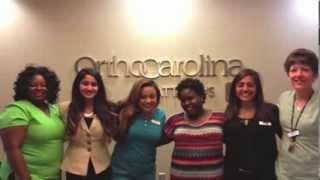 Davidson College & OrthoCarolina Improving Patient Care