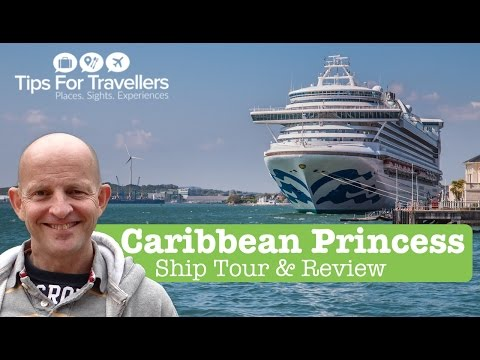 Caribbean Princess Cruise Ship Tour And Review (Princess Cruises)