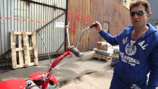 Мотоблок Мотор Сич МБ-8Э бензин от компании ПКФ «Электромотор» - видео 3