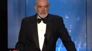 Sir Sean Connery Salutes Al Pacino at the AFI Life Achievement Award