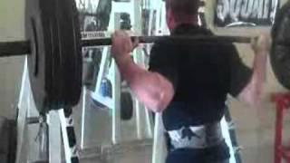 Travis Cadenhead Back Squats