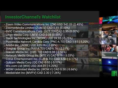 InvestorChannel's Media Watchlist Update for Thursday, Mar ... Thumbnail