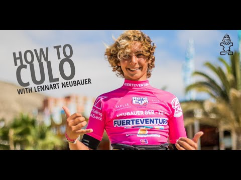 Windsurfing Tips: How to Culo with Lennart Neubauer