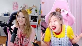 [Archived VoD] AngelsKimi | Duo Stream With HAchubby And Learning Korean