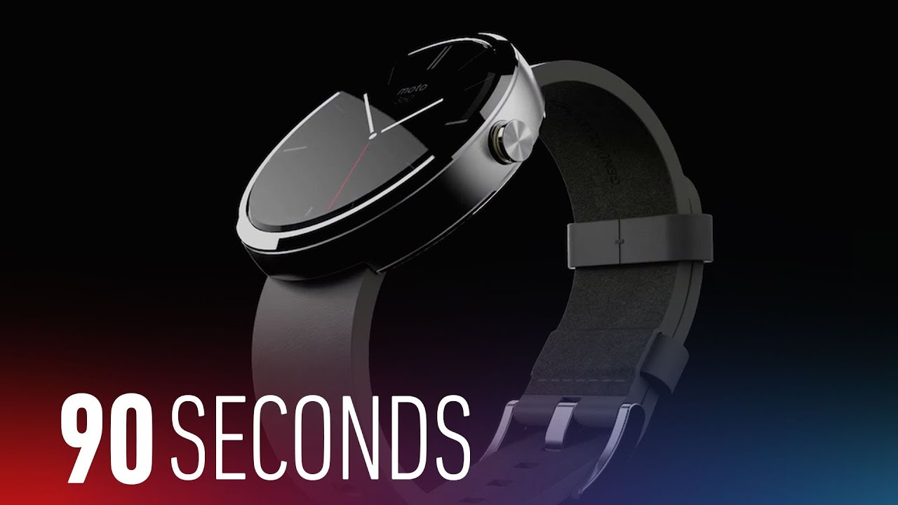 Google unveils Android Wear, Motorola teases Moto 360: 90 Seconds on The Verge thumbnail