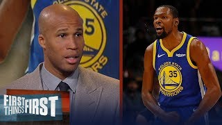 Richard Jefferson talks Kevin Durant's potential free agent landing spots | NBA | FIRST THINGS FIRST