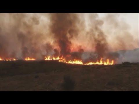 Αντιμετωπίστηκε δραστικά η αναζωπύρωση της πυρκαγιάς στα Κύθηρα