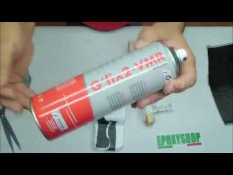 Come usare la colla spray per tessuti