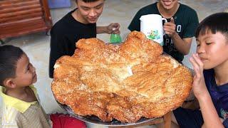 Làm Chiếc Bánh Tiêu Khổng Lồ