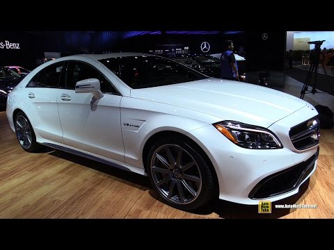 2015 Mercedes-Benz CLS-Class CLS63 S AMG - Exterior and Interior Walkaround - 2014 LA Auto Show