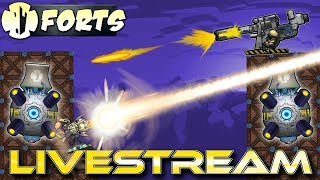 Weekend Relaxation (Forts Multiplayer Gameplay) - Forts RTS - Livestream