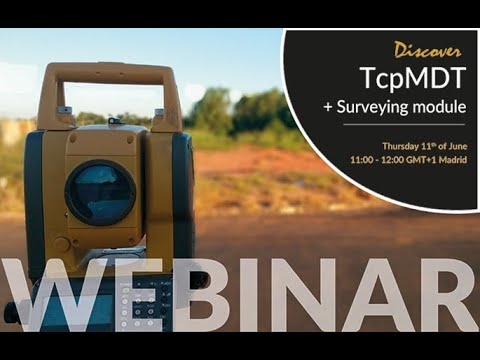 Discover TcpMDT + Surveying Module