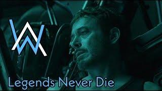 Alan Walker - Legends Never Die | Avengers Endgame Version | Tribute To Iron Man | #ILoveYou3000