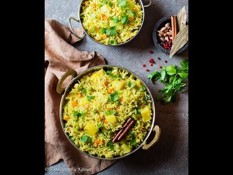 Coconut & Vegetable Pilau