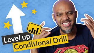 LEVEL UP Power BI Conditional Drill with Paginated reports!