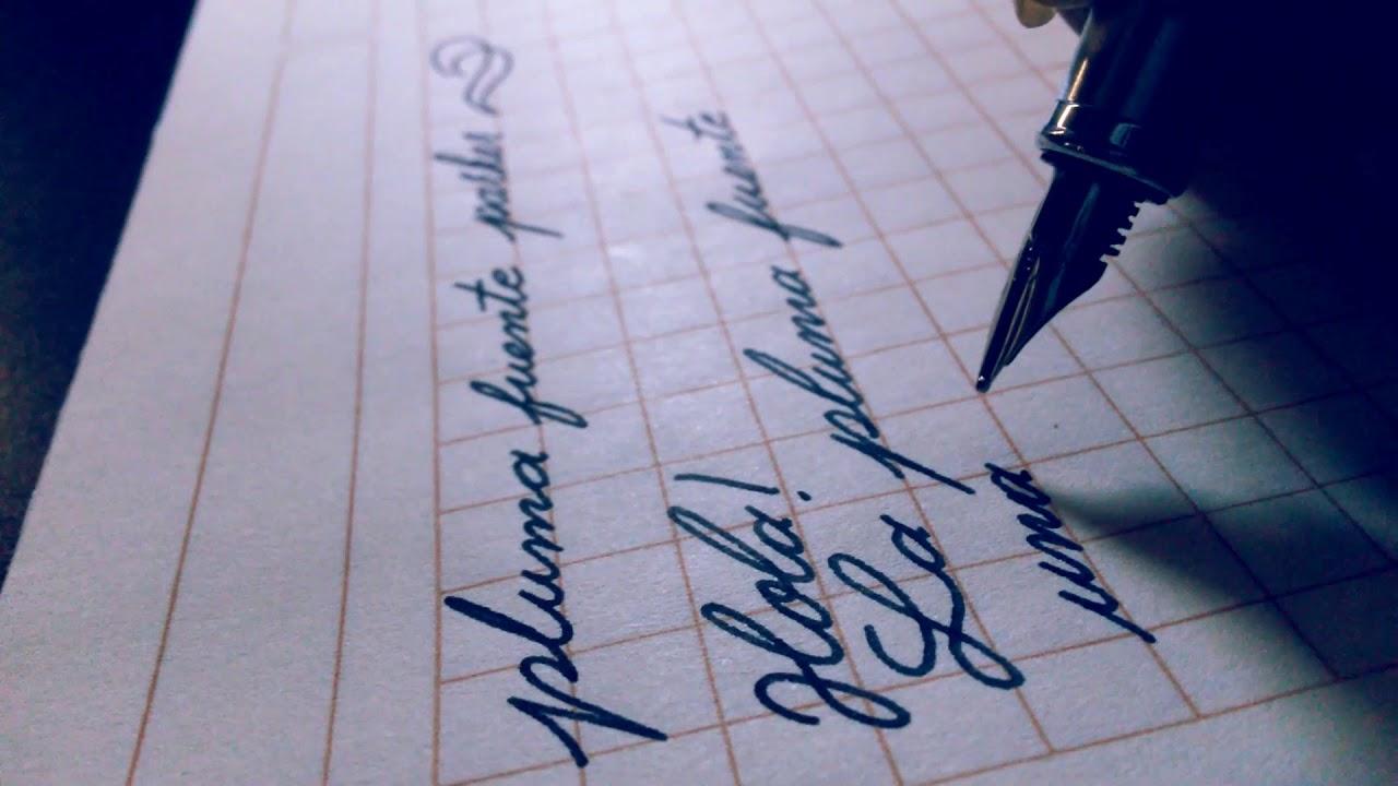Una vez que tengas el bolígrafo adecuado, tienes que mantenerlo bien.