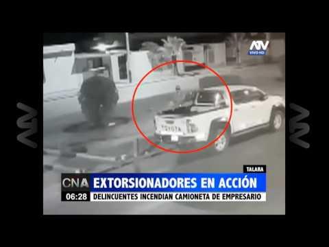 Talara: Extorsionadores fueron captados en acción