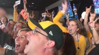 Fargo bar goes nuts when Eagles pick Carson Wentz
