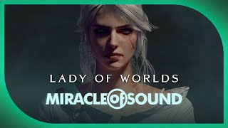 WITCHER 3 CIRI SONG: Lady Of Worlds by Miracle Of Sound (Epic Dark Folk)