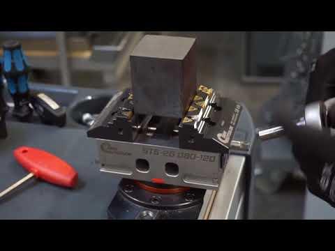ST5-2G(5軸(面)加工機対応マシンバイス スピンドルシールドタイプ)