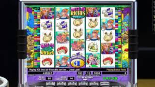 IGT Slots Stinkin Rich AMAZING BONUS 105 FREE SPINS !!!!