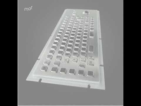 Industrial Metal Keyboards