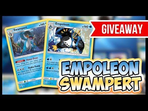 Empoleon / Swampert – Pokemon TCG Online Games and Patreon Giveaway!