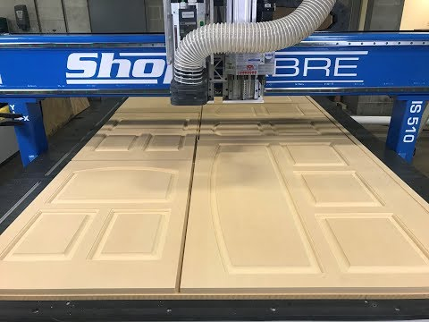 ShopSabre CNC – IS Series MDF DOORSvideo thumb