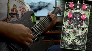 Overdrive Pedal From Hell! Highwind Amplification Direwolf Guitar Pedal Demo