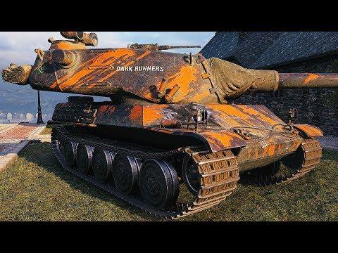 AMX M4 mle. 54 - BIG TURRET & BIG GUN - World of Tanks Gameplay