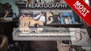 Urban Exploration: Abandoned Time Capsule House Pop Culture Toys