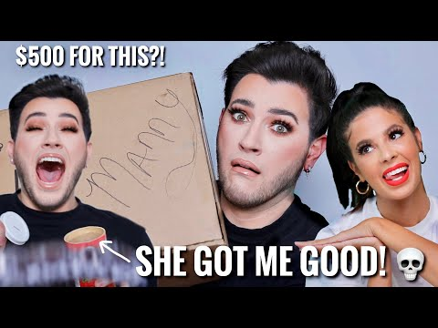 I PAID LAURA LEE $500 TO MAKE ME A MAKEUP MYSTERY BOX... Im ACTUALLY Scared