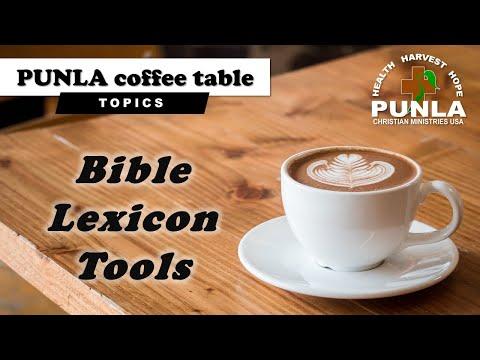 DEMO  Bible Lexicon Tools
