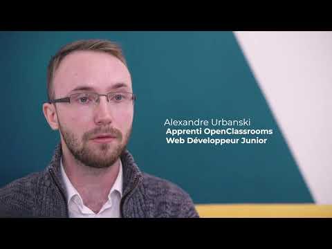 Video Alexandre, apprenti chez Mobhilis