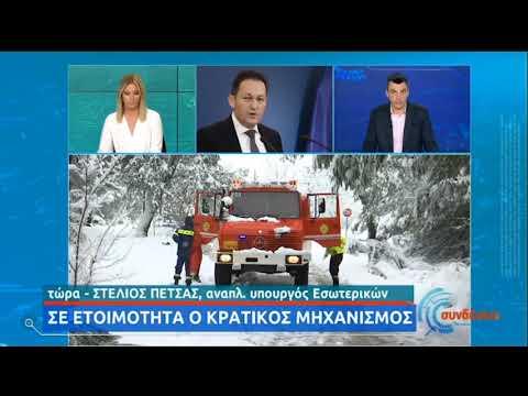 Πέτσας: Κινητοποίηση για την αποκατάσταση της ηλεκτροδότησης στον Διόνυσο | 16/02/21 | ΕΡΤ