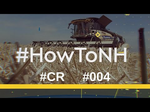 CR Revelation Combines - How to setup the header height adjustment