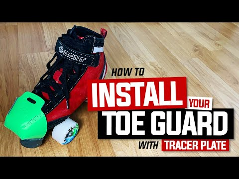 How to Install your Bont Toe Guards   Cap Protector