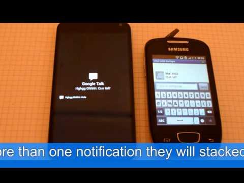 Video of Cowabunga ! Rich notifications