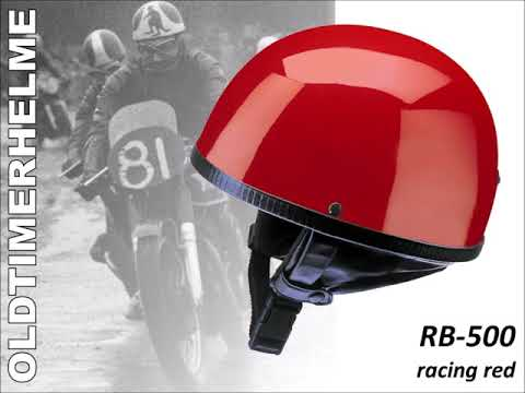 Kochmann Helme: Redbike Oldtimerhelme - Echte Klassiker